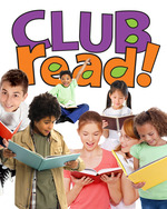 Club Read Logo with Kids